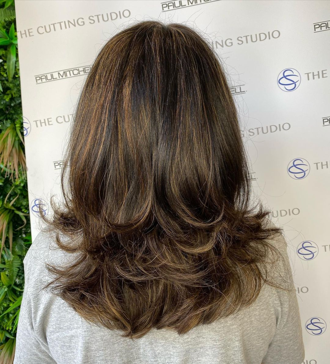layered hair cuts and styles at The Cutting Studio hair salon, Hazelmere