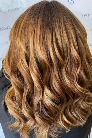 red ombre At The Cutting Studio In Hazlemere
