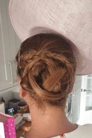 wedding hair at top buckinghamshire salon
