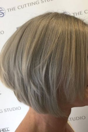 short hairstyles for older women at The Cutting Studio in Hazelmere